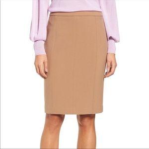 NWT Halogen Seamed Pencil Skirt
